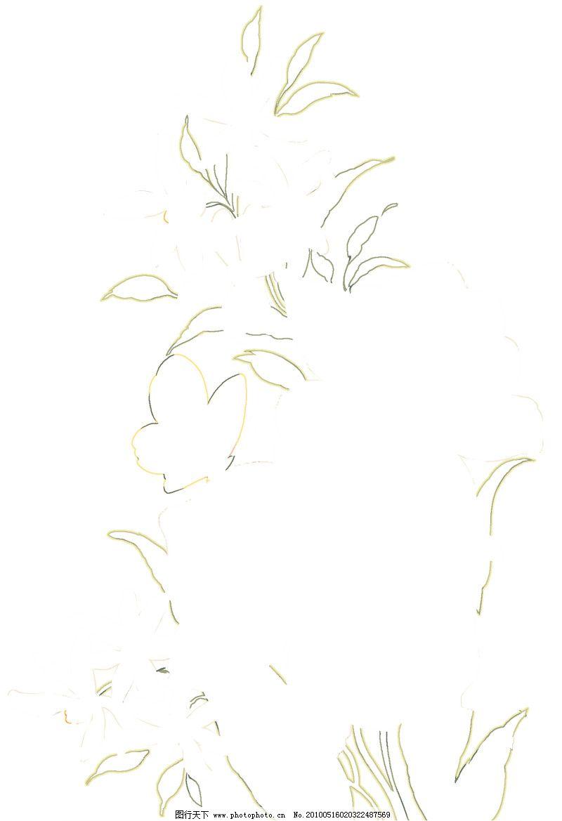 彩绘花纹0403