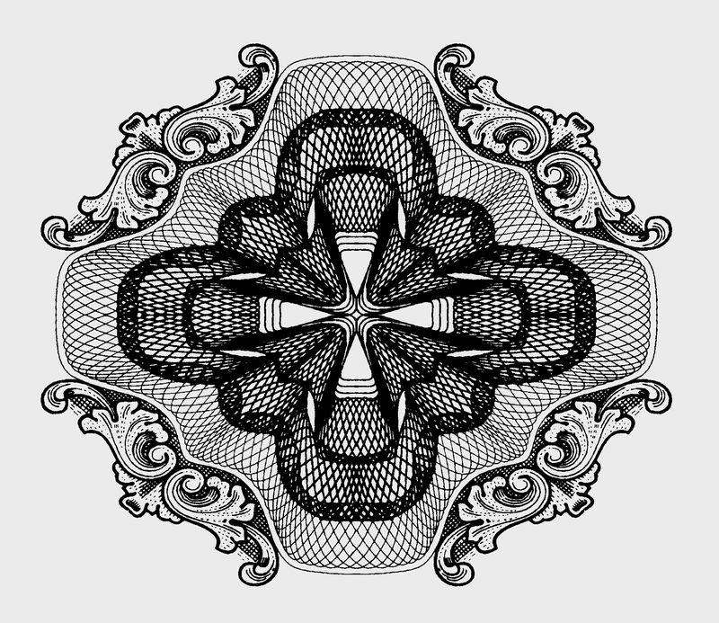 古代图案花纹0096