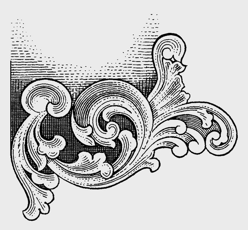 古代图案花纹0091