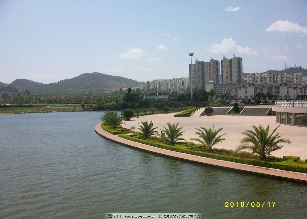 玉溪 文化广场 聂耳 音乐图片_自然风景_旅游摄影_图