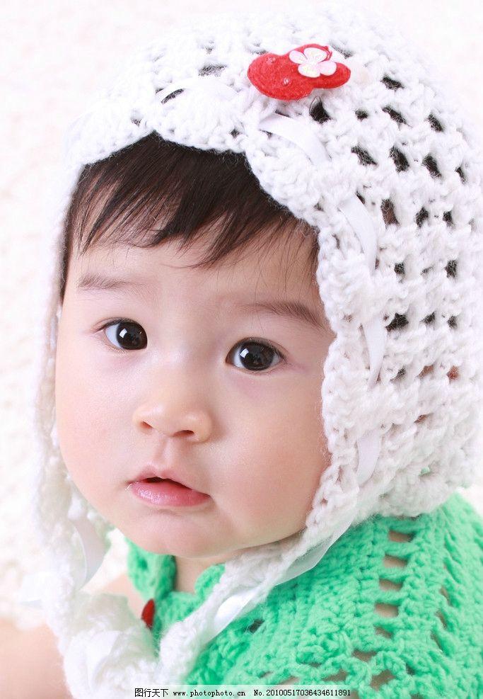 小宝宝清晰大图图片,婴儿 小公主 礼服 发卡 大头照