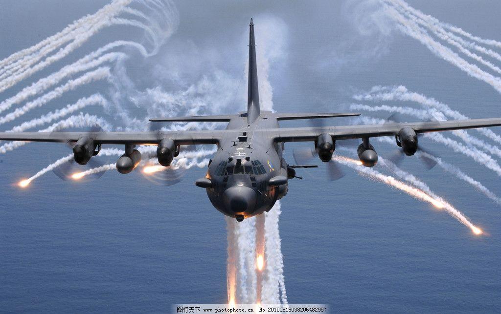 战斗机 飞机 导弹 航空 蓝天 军事武器 现代科技 摄影 300dpi jpg