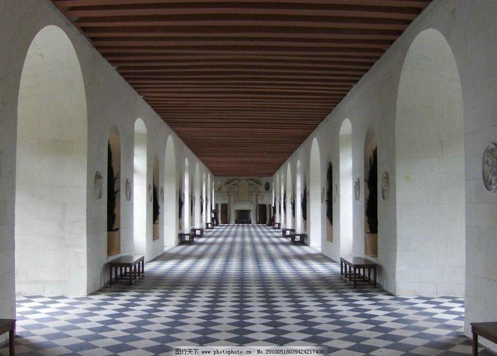 长廊 建筑设施 风景 建筑 拱门 地面 长椅 雕塑 建筑摄影 建筑园林