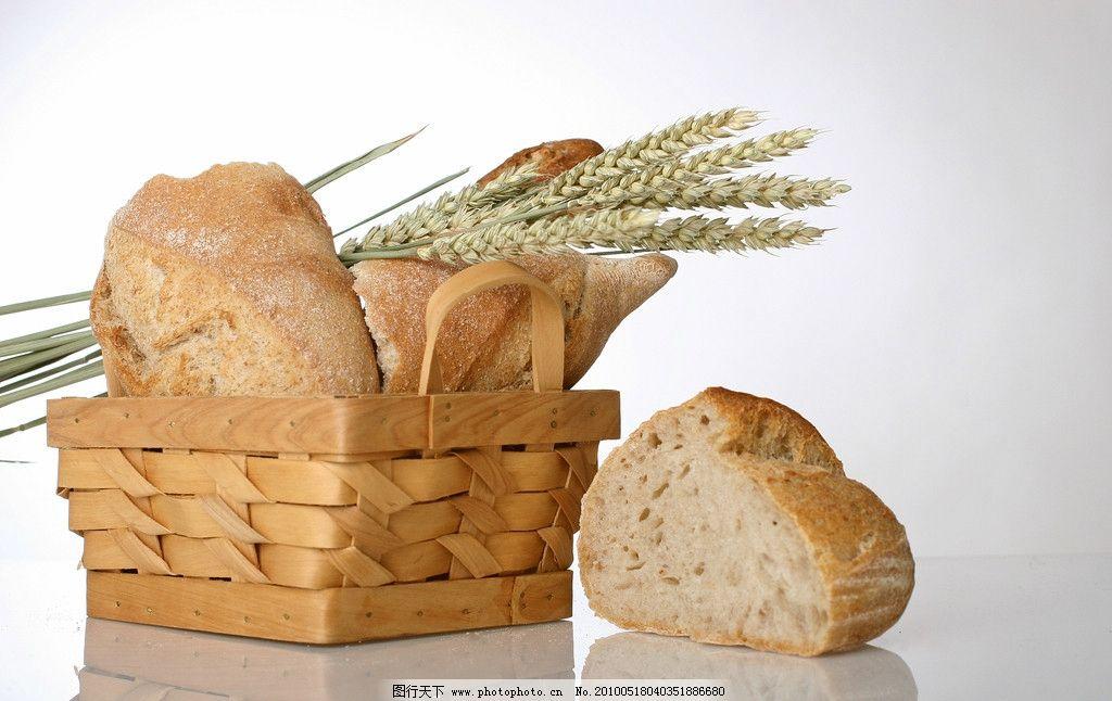 面包手绘水粉小清新