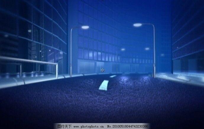 3d虚拟街景 3d 虚拟 街景 漫游 路灯 马路 视频动态素材 视频剪辑 多