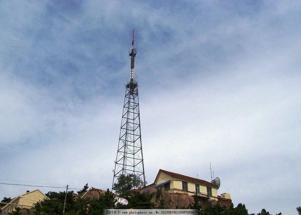 电视转播塔图片