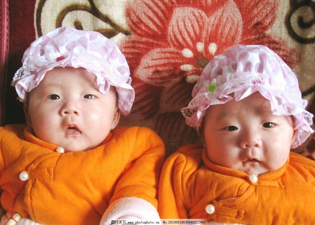 双胞胎宝贝图片