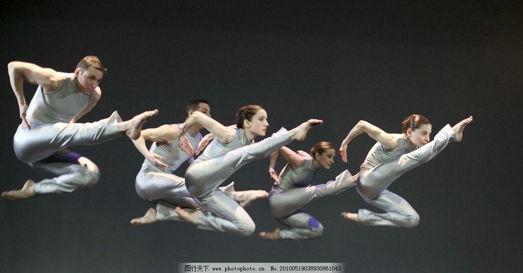 舞蹈 男性 女性 造型 舞台 艺术 表演 服装 动作 跳跃 摄影