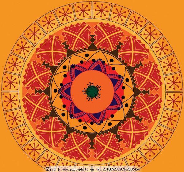 圆形古典花纹 圆形 古典 传统 花纹 花边 底纹 背景 矢量素材 欧式