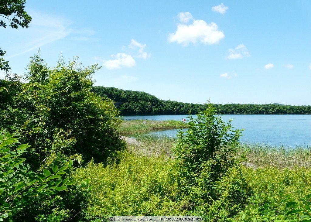 大自然风景3 树木 水库 河流 蓝天 白云 自然景观 自然风景 摄影 72