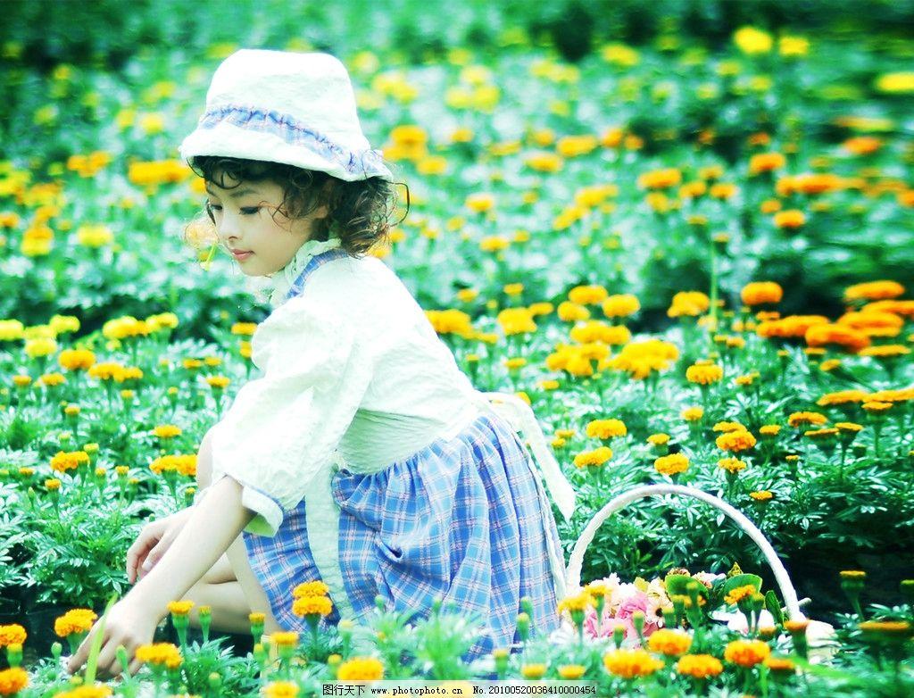 女孩 外景 花园 欧陆风情 样片 摄影 儿童幼儿