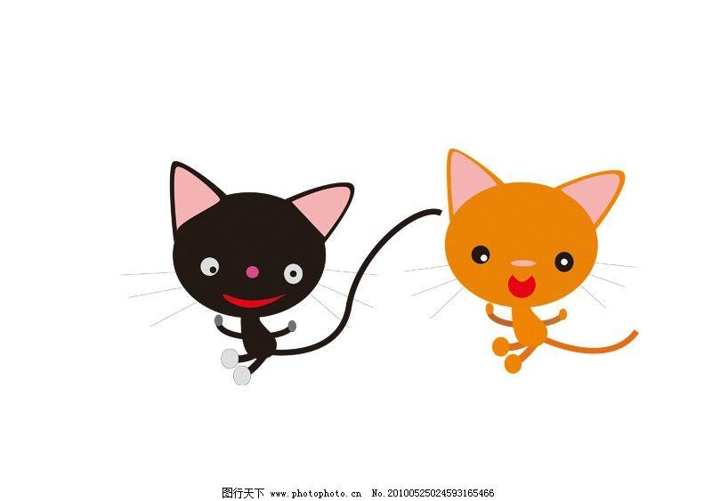 猫咪 可爱猫咪 小猫 调皮 可爱 家禽家畜 生物世界 矢量 cdr