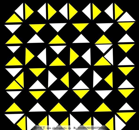 三角形组合而成的图案图片