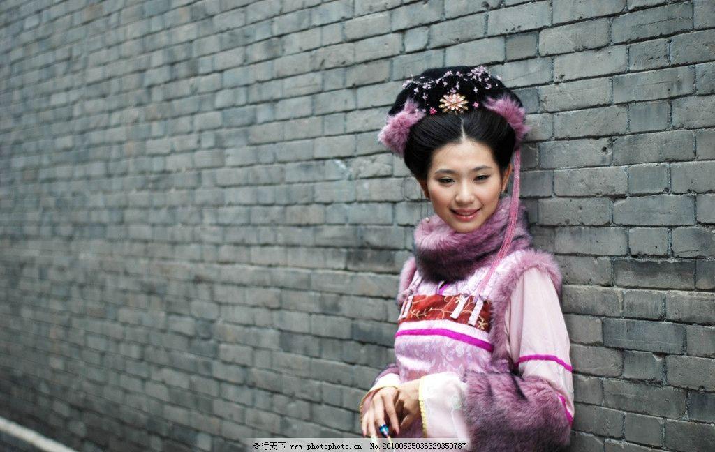 中国美女 清朝古装美女图片