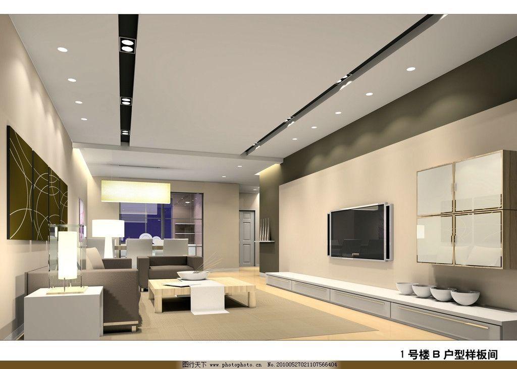 客廳效果圖 家裝             裝修 室內設計 頂棚 沙發 電視背景墻