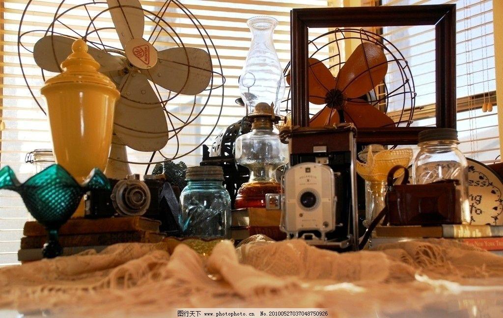 电风扇 罐子 容器 布料 照相机 百叶窗 相框 家庭用品 生活素材 生活