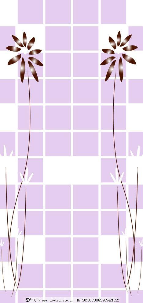 移门 方格子 方格 方块 线条 花 花纹 移门图案 背景底纹 底纹边框