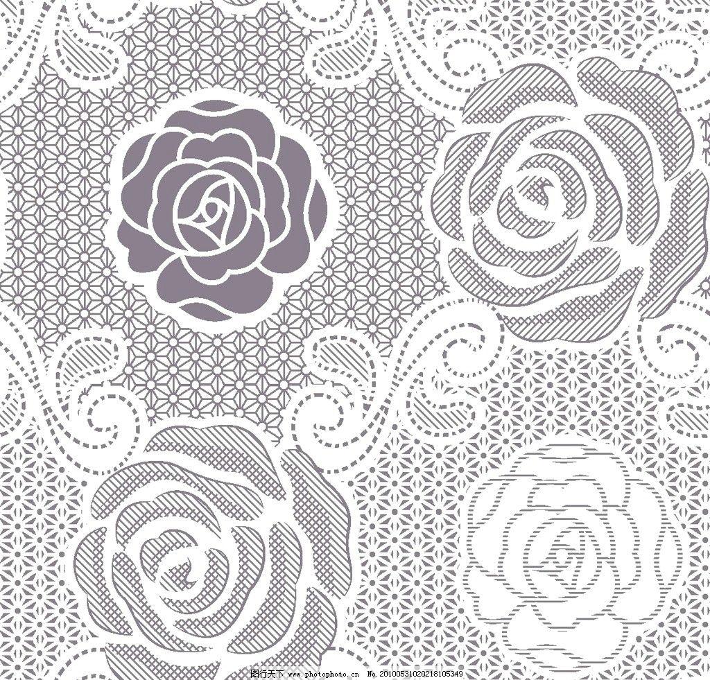 玫瑰花 玫瑰 抽象底纹 玫瑰花底纹 底纹 花纹 背景底纹 底纹边框 设计