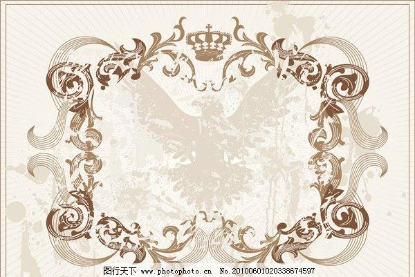 欧式古典花边图片