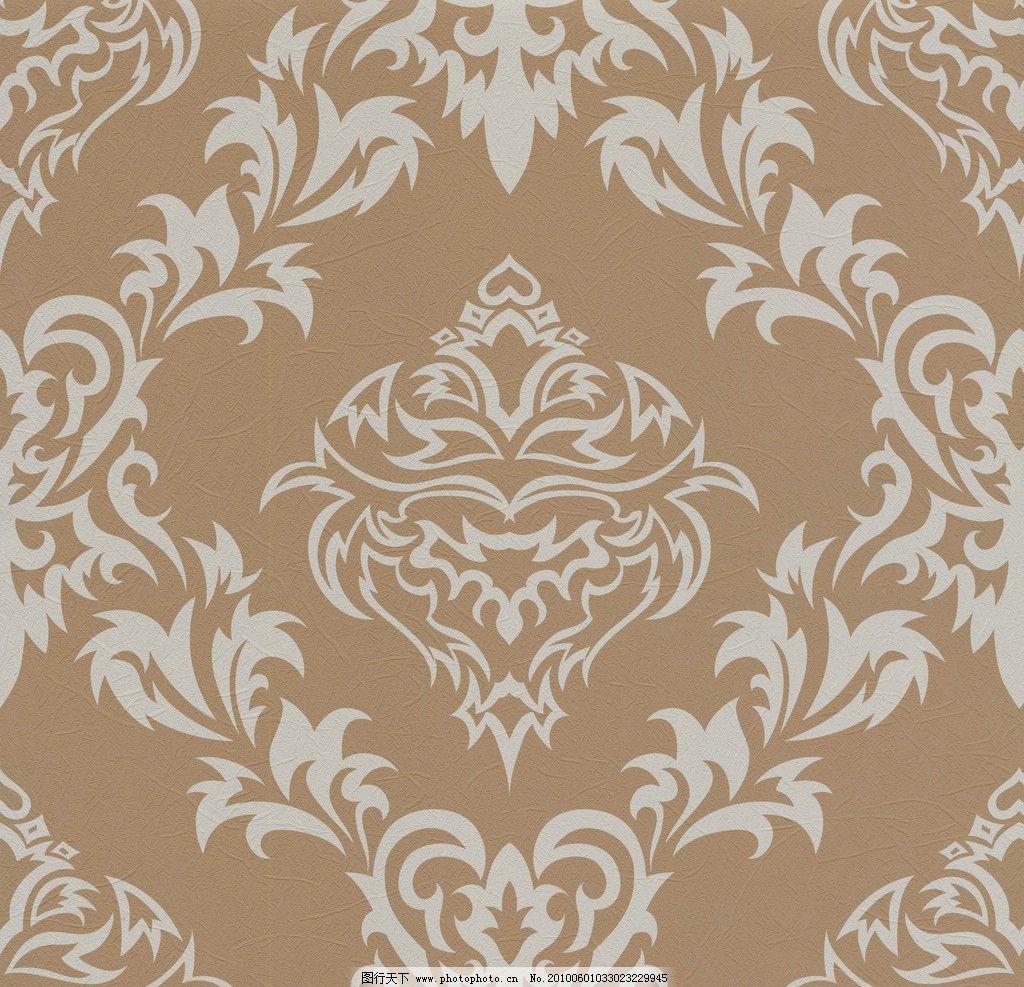 壁纸图案 二方连续 图案 花样 欧式花 连续花样 流行花色 psd分层素材