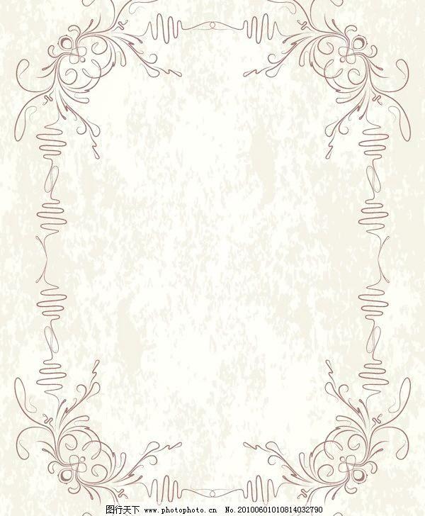 背景 边角纹 底纹边框 花边 花纹 花纹花边 剪影 欧式 欧式古典花边