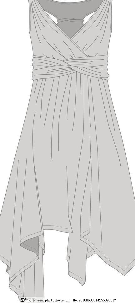 服装设计图图片