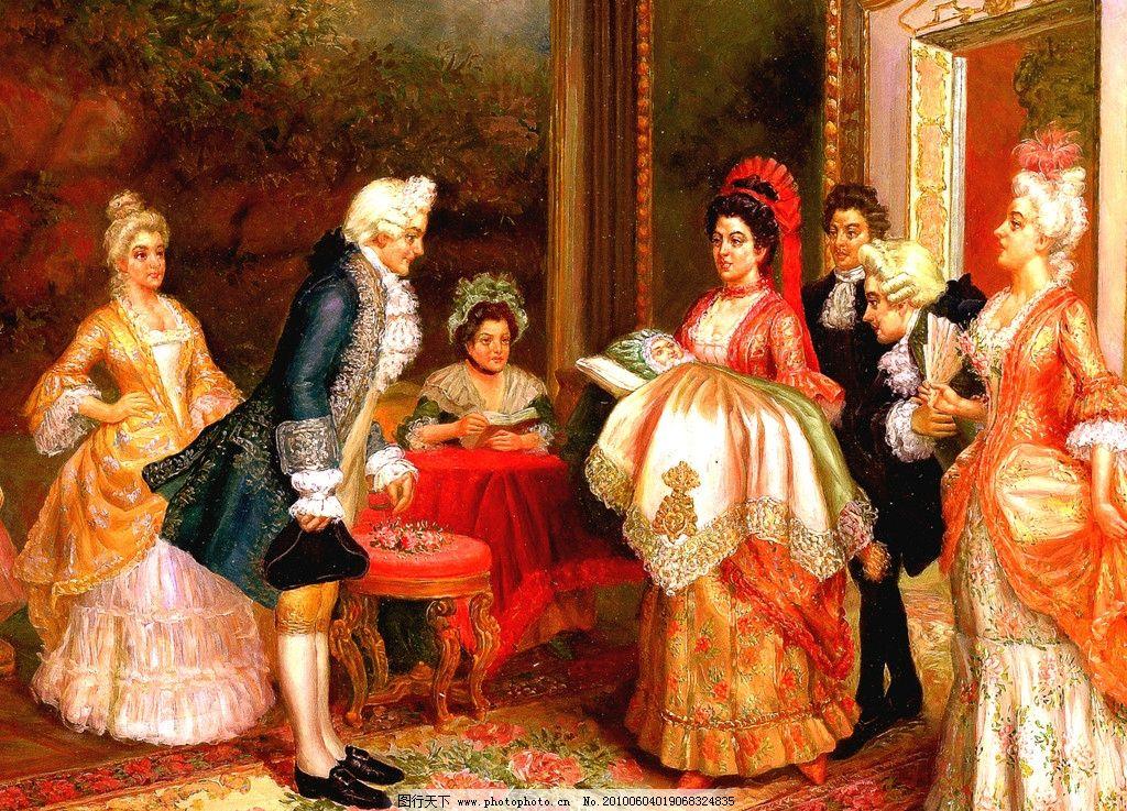 人物油画 人物 油画 名画 宫廷油画 装饰画 欧式 绘画书法 文化艺术