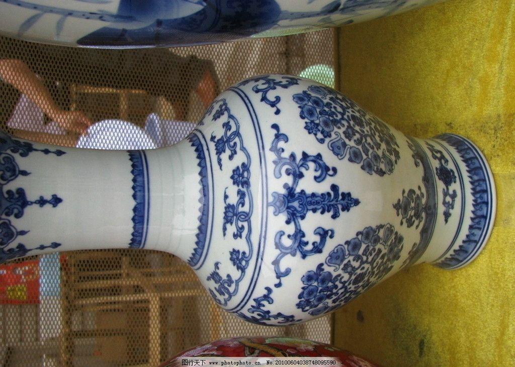 青花瓷 瓷器 花瓶 陶瓷 美术绘画 文化艺术 摄影 180dpi jpg