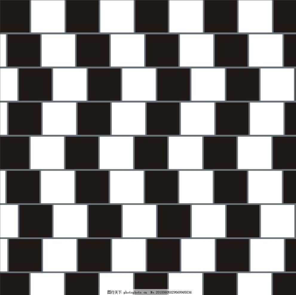 视错觉 平面构成 平面设计 几何 重复 组合 二方连续 埃舍尔 图案底纹