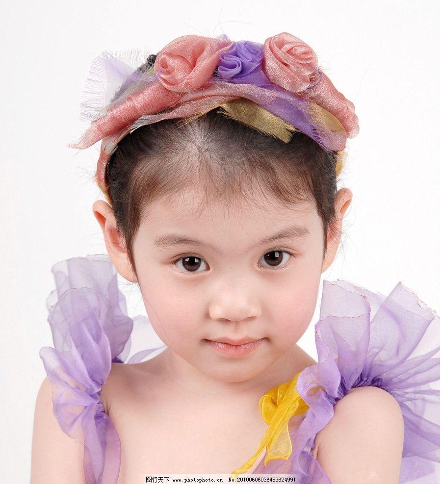童真 儿童 美少女 天真 活泼 可爱 婚纱 小天使 小公主 童趣 纱巾