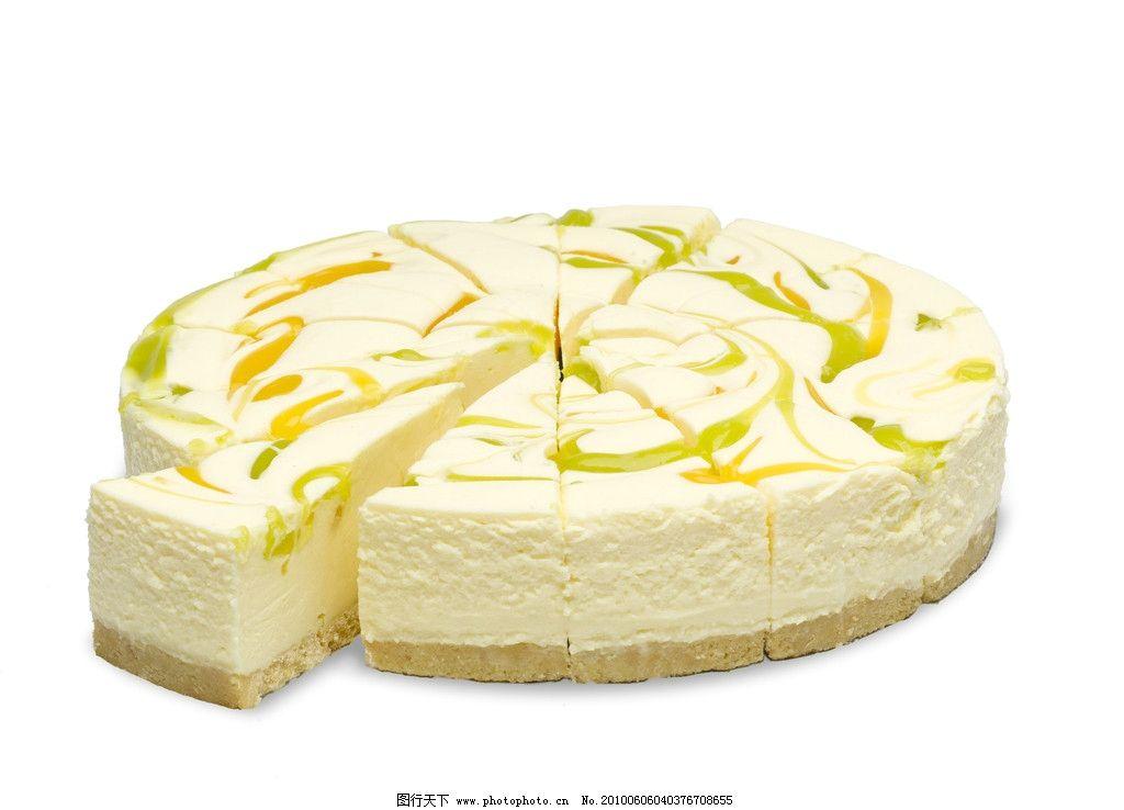 柠檬蛋糕 冰淇淋 美食 点心 小吃 可爱 彩色 盘子 餐具 冰激凌