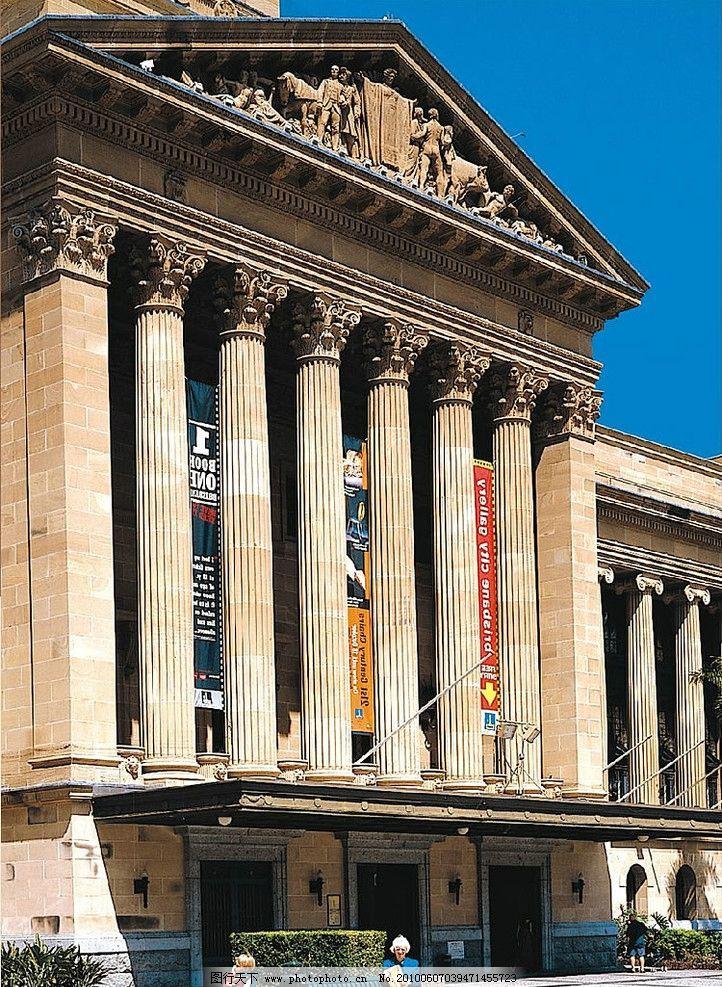 欧式古典建筑外观图片