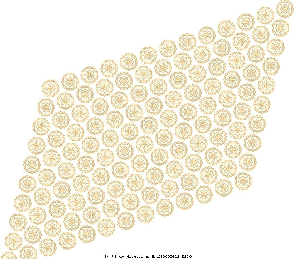 纹路 底纹 花纹 花 无缝接 线条 矢量素材 底纹背景 底纹边框 矢量 ai