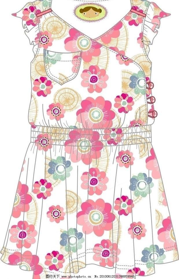 服装设计图 标识 标志 风格 服装设计图片 服装手稿 服装设计图矢量
