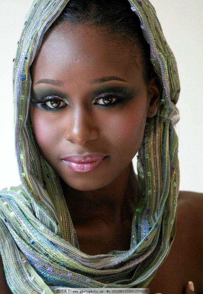 黑非洲美女图片_女性女人_人物图库_图行天下图库