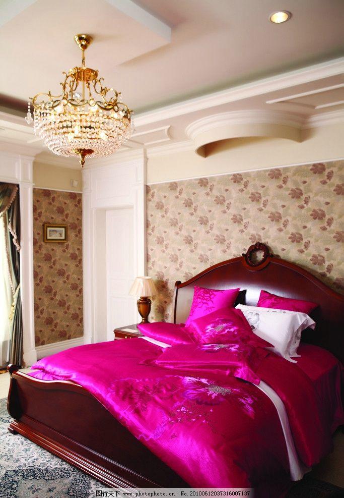 室内 室内设计 房间 温馨 豪华 分后 浪漫 欧式风格 西方 场景 摄影