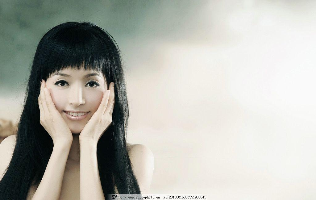 美女 漂亮女人 可爱女性 美女壁纸 美女底图 人物摄影 人物图库 摄影