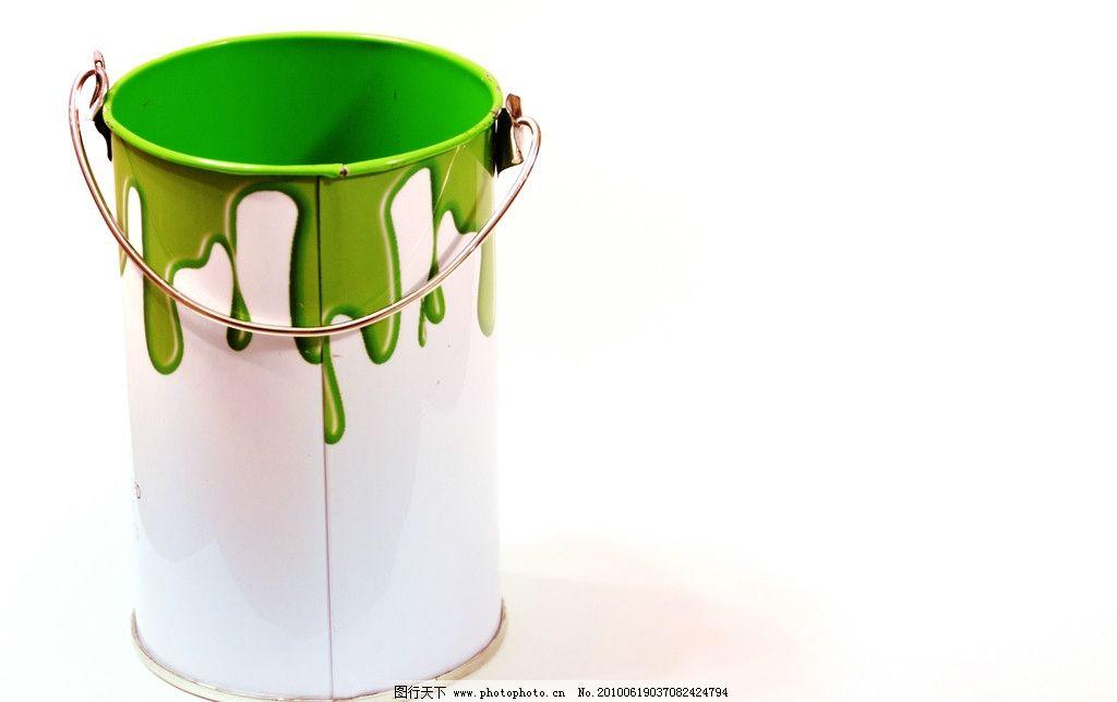油漆桶 油漆 铁桶 绿色