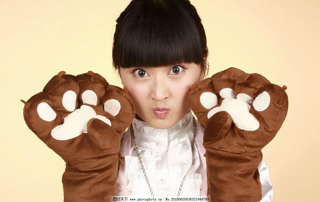 王真洁 可爱 写真 山东卫视 点点姐姐 明星偶像 人物图库 摄影 72dpi