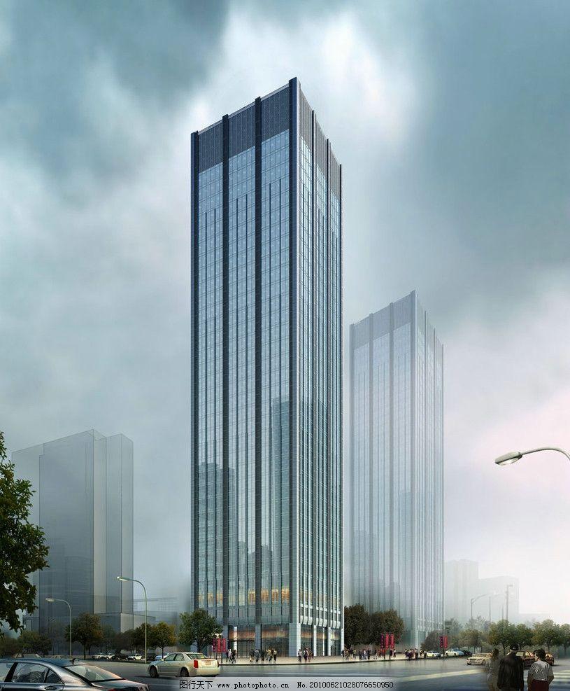 经典 办公楼 欧式 建筑设计 高层 高层办公楼 写字楼 高层写字楼 现