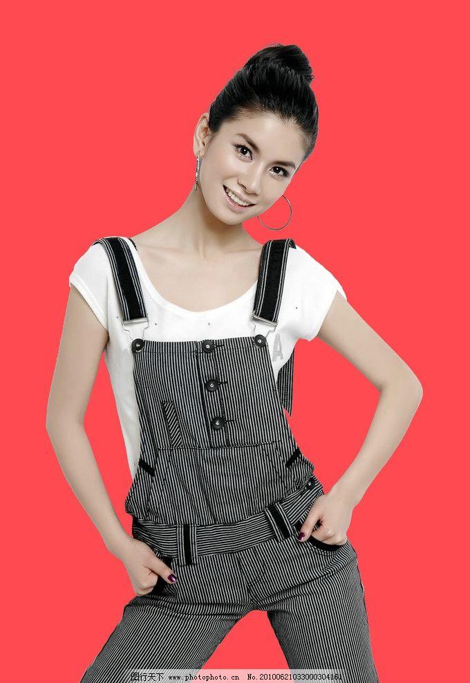 王璐 美女 东方女性 妖娆 妩媚 性感 女性 服装 服装模特 人物素材 明