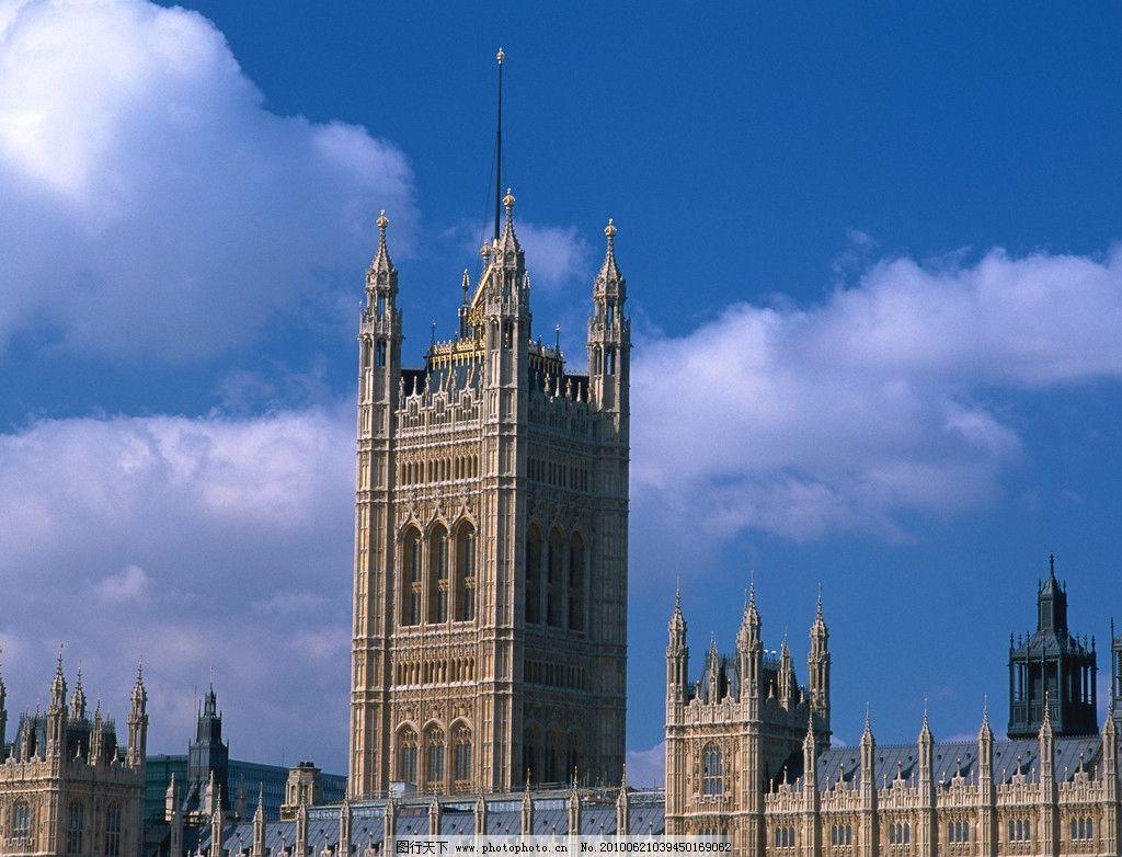 欧式建筑 钟楼 教堂 宫殿 殿堂 雄伟 屹立 建筑摄影 建筑园林