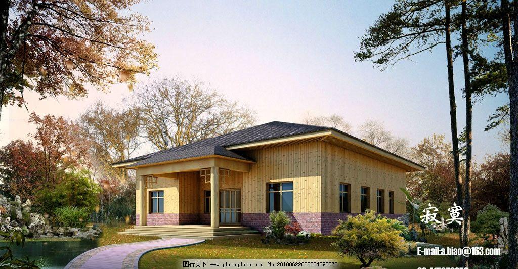 psd 黄昏 景观 经典 办公楼 欧式 古典 欧陆风情 建筑设计 农家乐