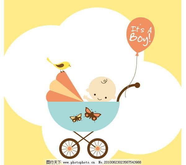 可爱 卡通 婴儿图片