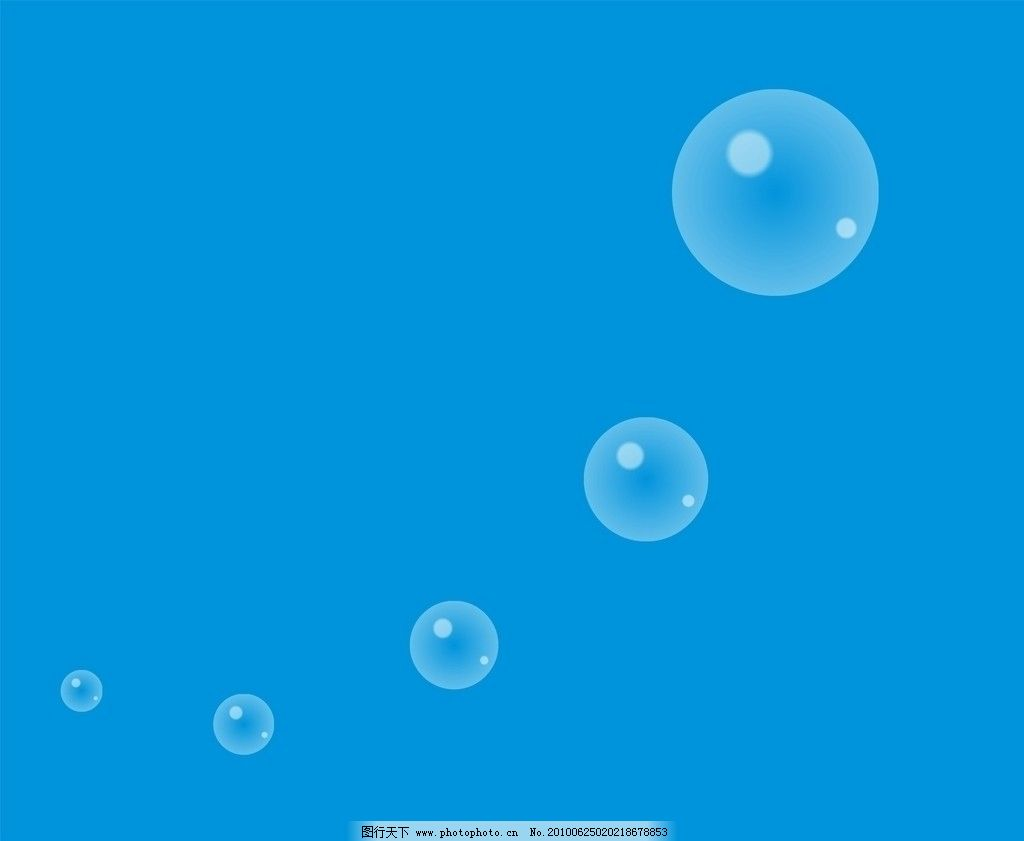 矢量圆形透明气泡 矢量 圆形 透明 气泡 底纹背景 底纹边框 cdr