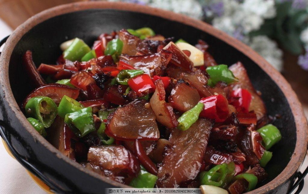 小炒腊猪耳 腊肉 猪耳 小炒 美食美味 传统美食 餐饮美食 摄影 72dpi