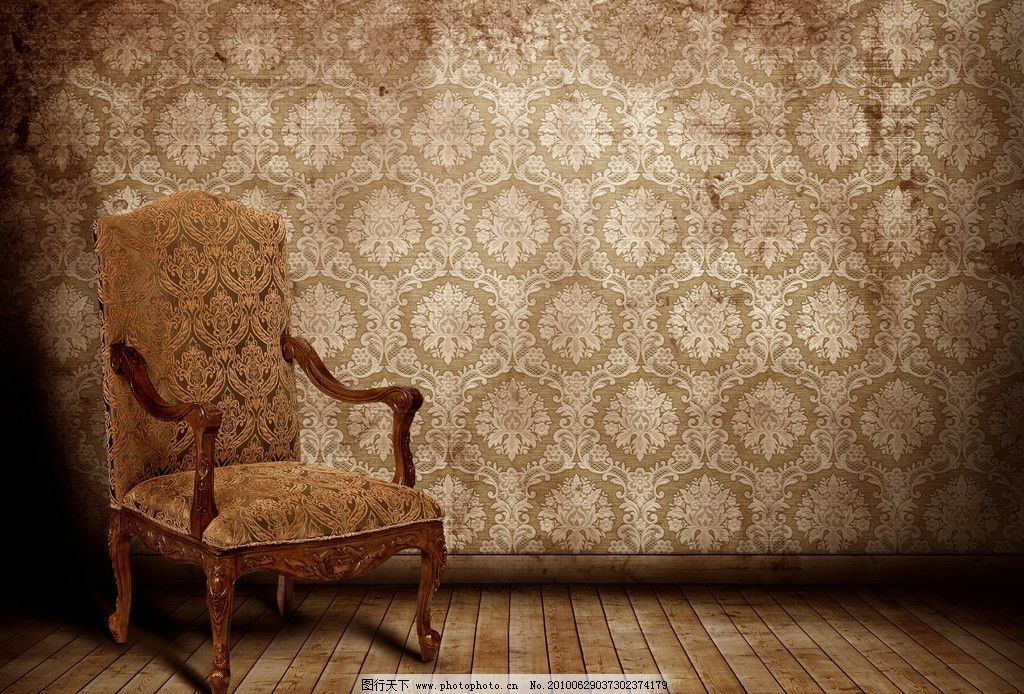 摄影图库 生活百科 家居生活  欧式风格室内陈设高清图片 墙纸 墙壁