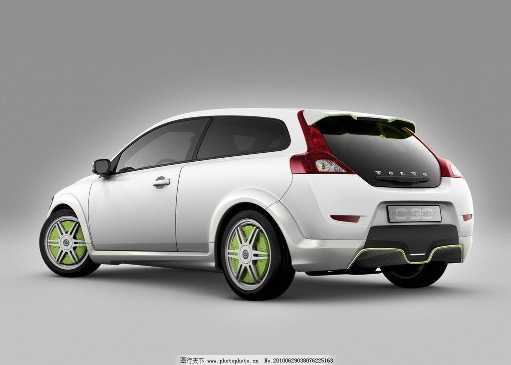 沃尔沃充电概念汽车图片