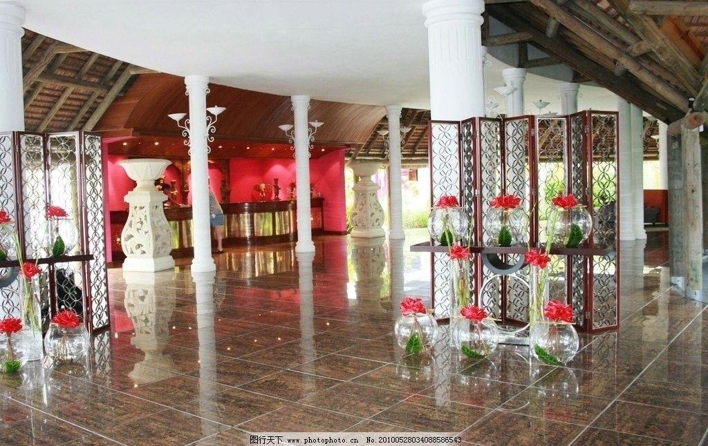 毛里求斯,路易港,旅游度假村,酒店內景,明亮,寬敞,地面